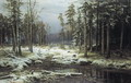 Первый снег - 1875 год