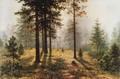 Туман в лесу - 1888 год