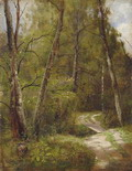 Тропинка в лесу - 1886 год
