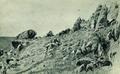 Скалы на берегу моря. Гурзуф - 1879 год