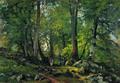 Буковый лес в Швейцарии - 1864 год