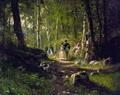 Прогулка в лесу - 1869 год