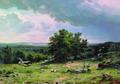 Вид в окрестностях Дюссельдорфа - 1865 год